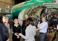 Touring the 737 Manufacturing Line